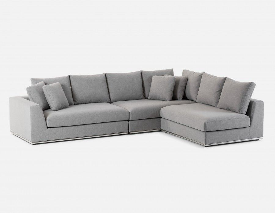 1699 Horizon Modular Sectional Sofa Light Grey Modular Sectional Sofa Modern Modular Sofas Sectional Sofa