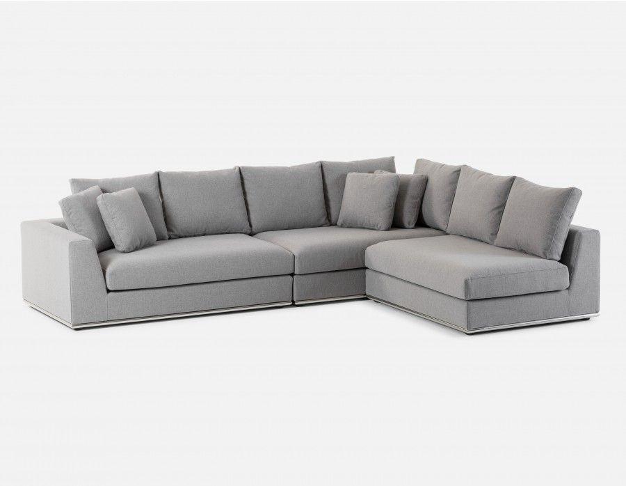 1699 Horizon Modular Sectional Sofa Light Grey Modular