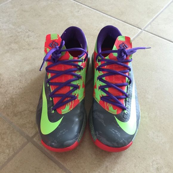 new product 7a45b ee319 cheap kd 6 red green