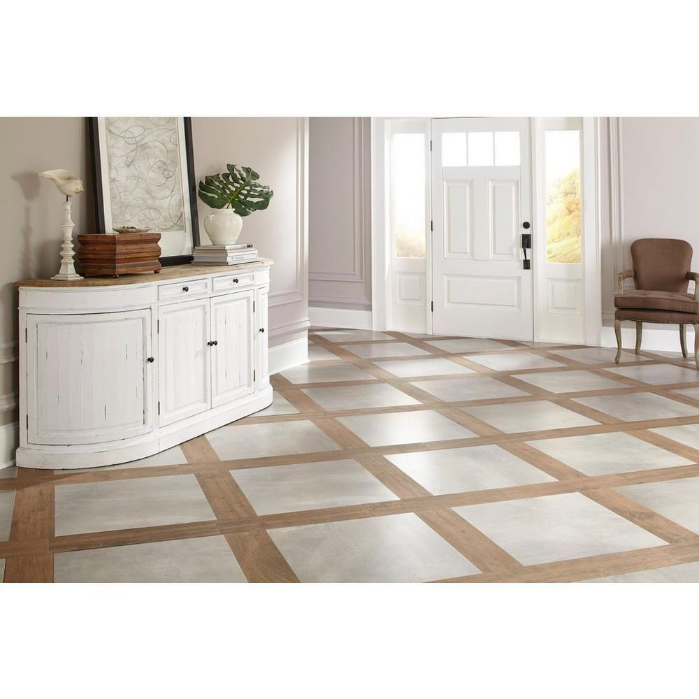 wood plank porcelain tile floor