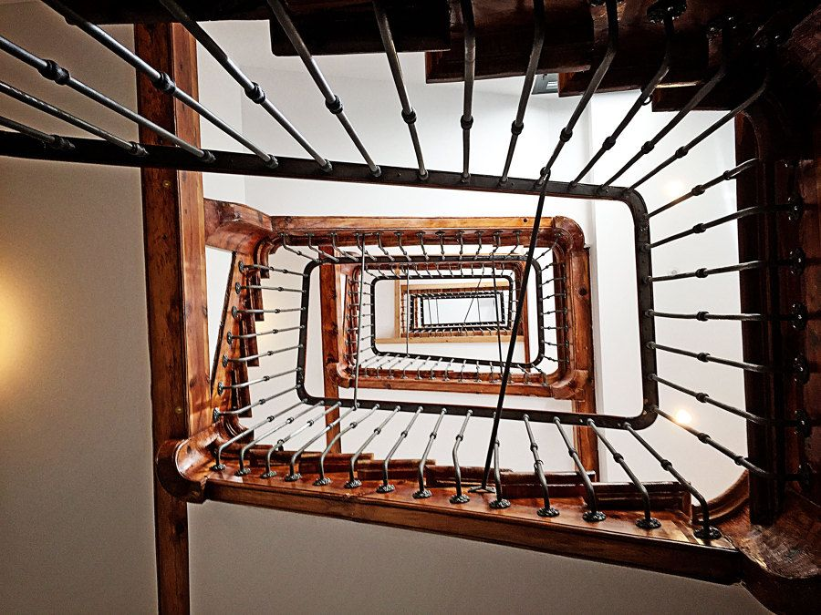 escalera en forma de caracol escalera caracol hogarhabitissimo