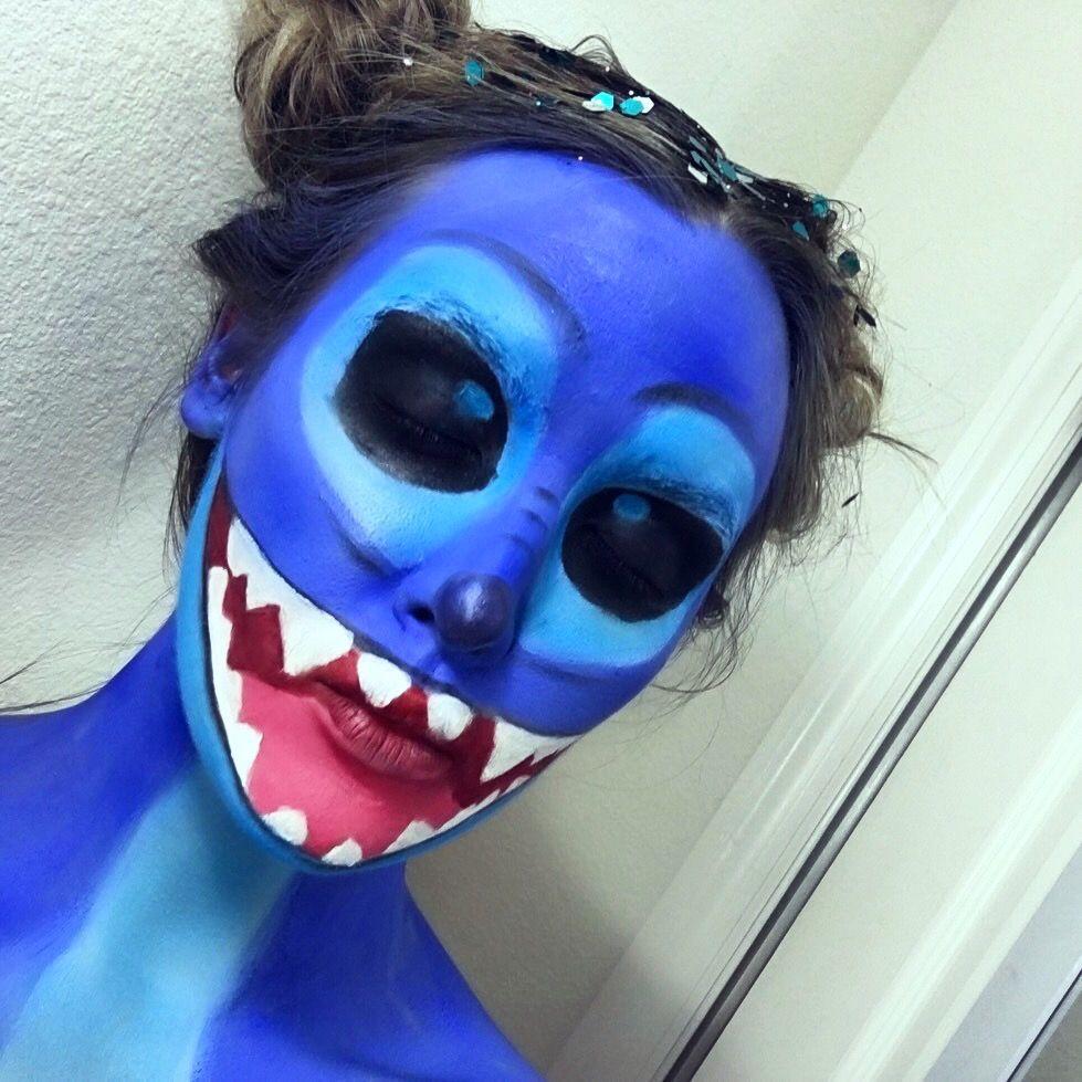 Lilo & Stitch Makeup halloweenmakeup bodypaint
