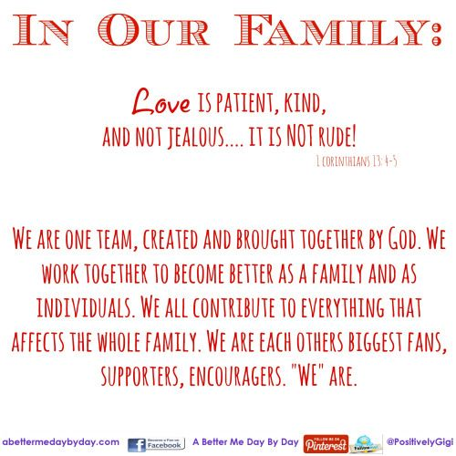 Keeping It Together Thats What A Family Is All About Im