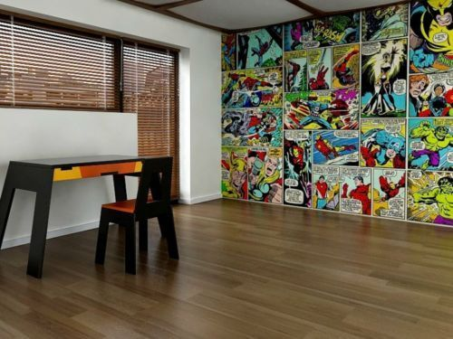 Marvel Wallpaper Bedroom   Google Search · Comic Book ...