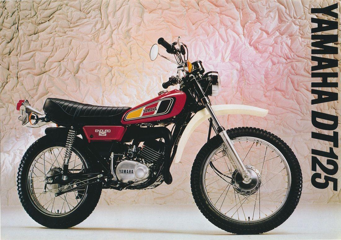 Yamaha Dt125 Dt125e Dt125mx Dt125r Brochures Motocicletas