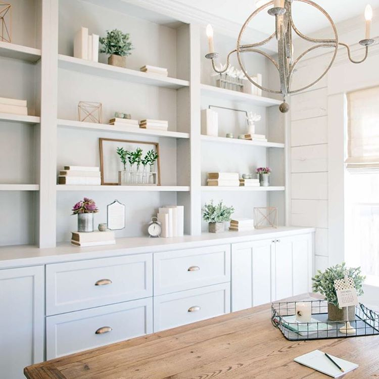 How gorgeous is this office created by @joannagaines