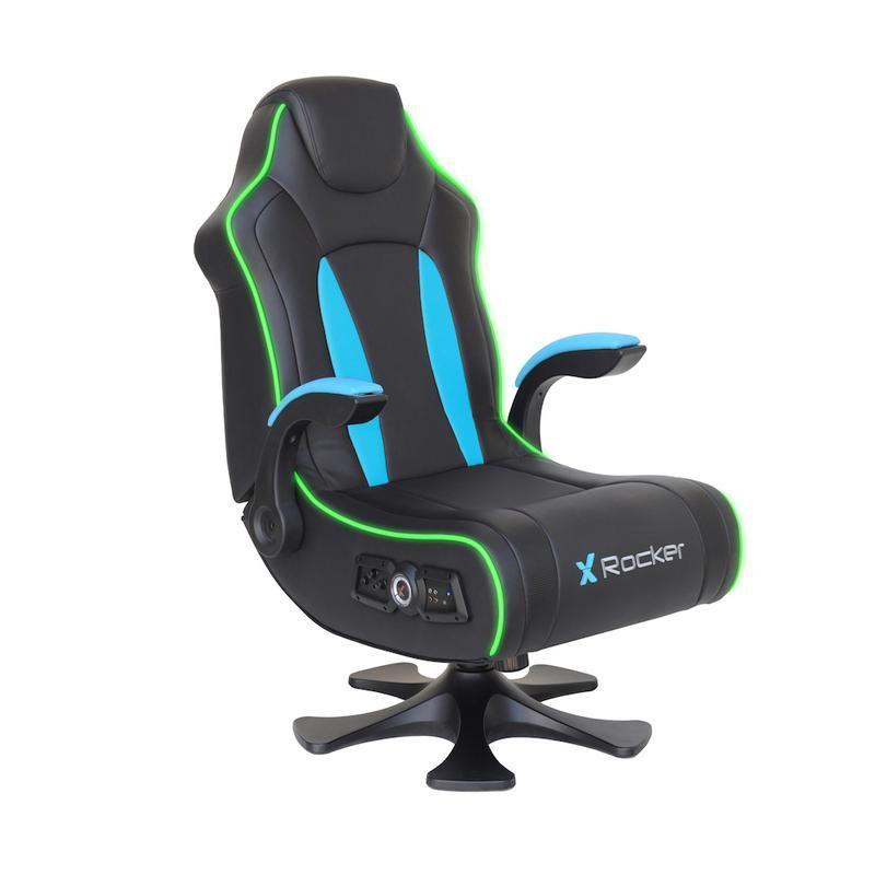 Cxr3 led dual audio gaming chair x rocker in 2020