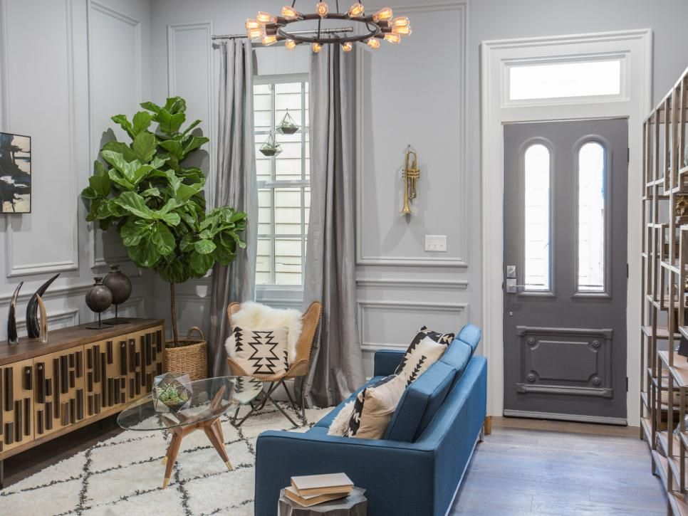 Brothers Take New Orleans Living Room Transformations From Drew And