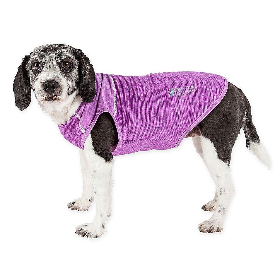 Pet Life Active Aero Pawlse Extra Large Dog Performance T Shirt In