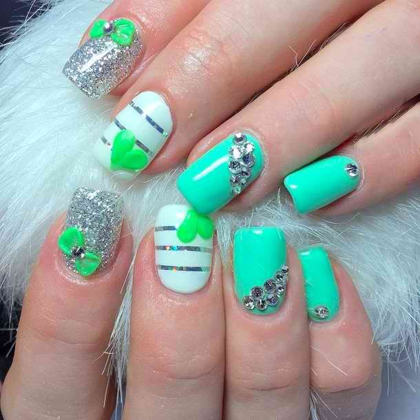 27 Funky Nail Art Designs Ideas: 30 Simple & Artistic Nail Art Ideas