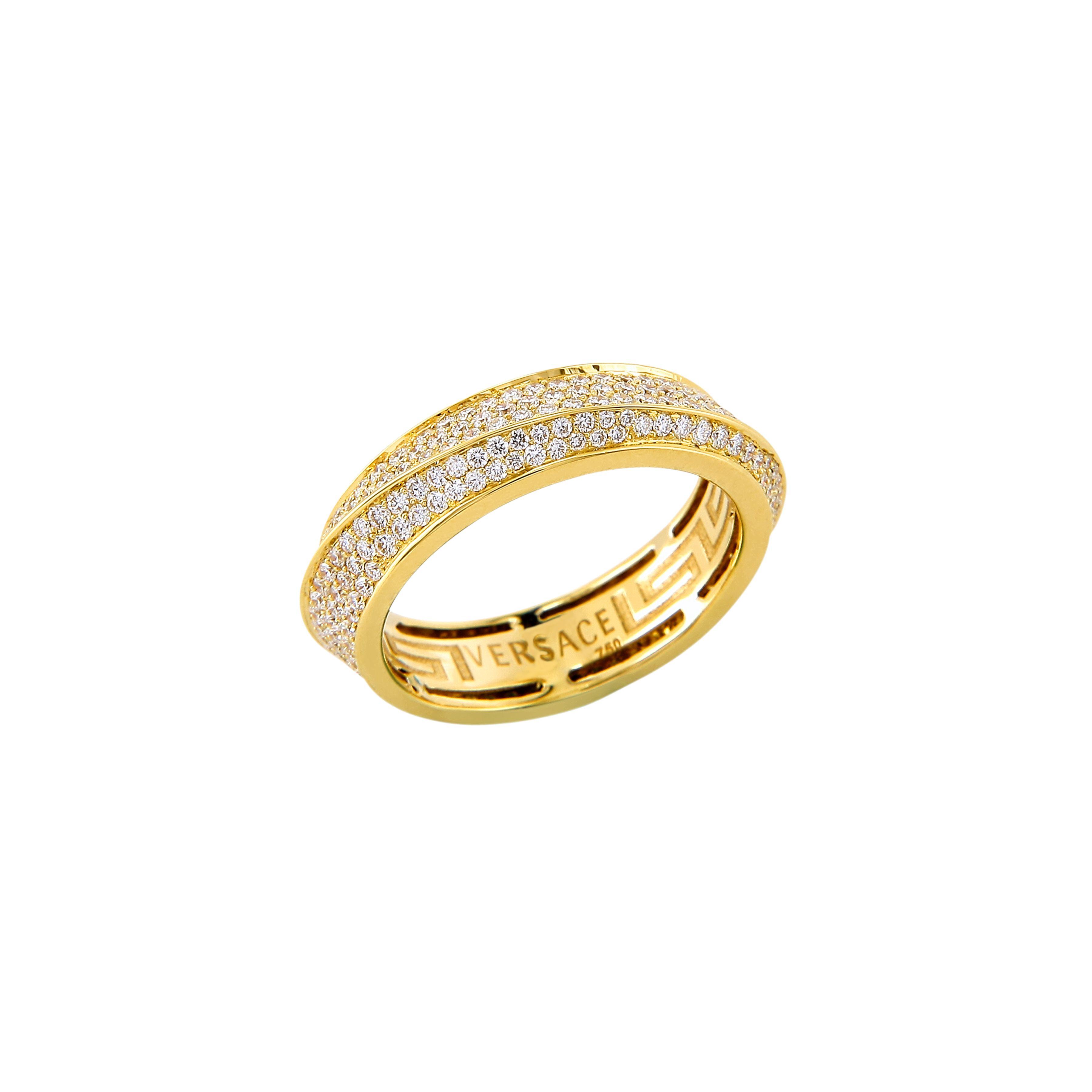Versace fine jewellery twist ring versacejewellery versace best