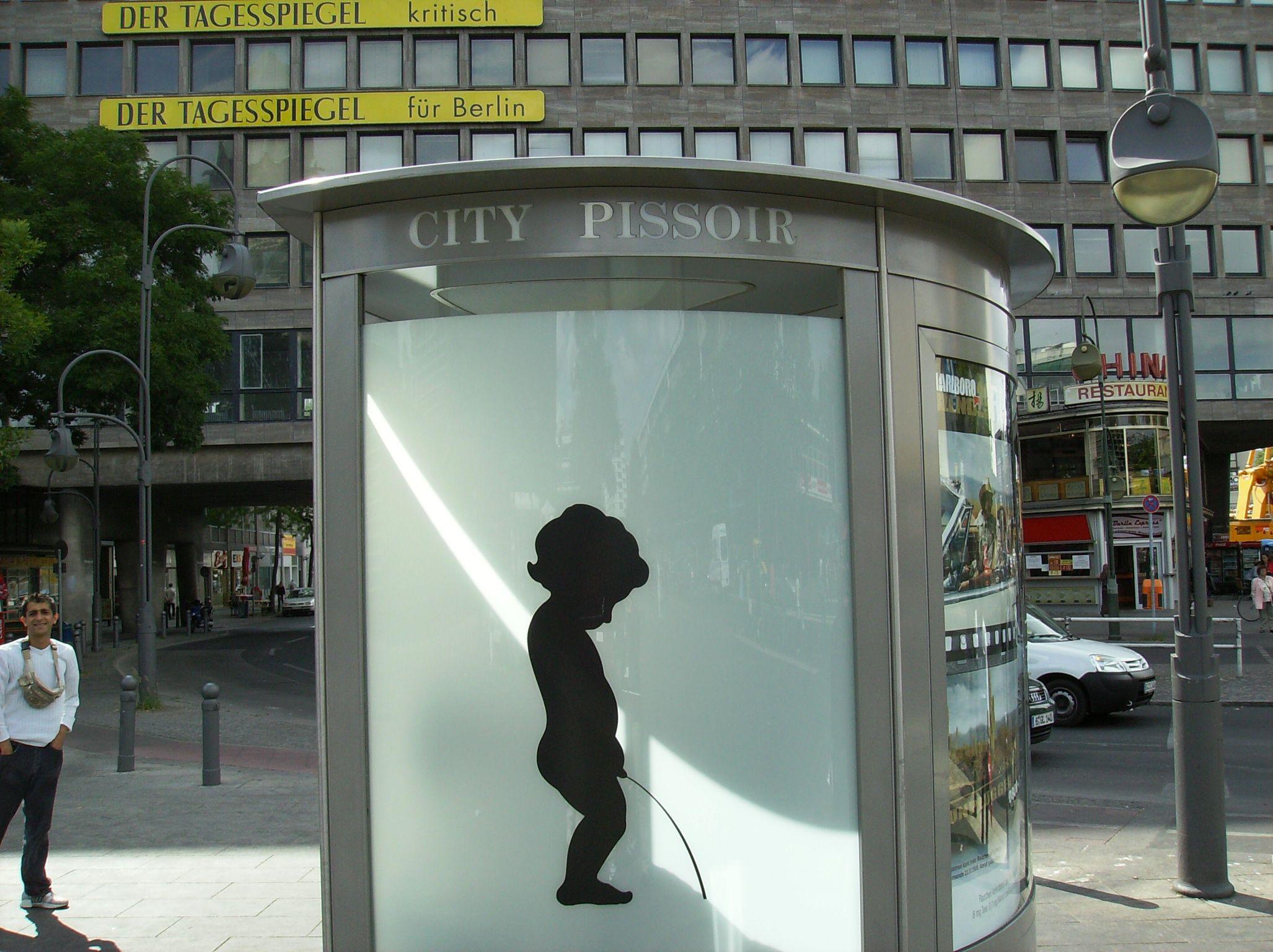 One Way Mirror Public Bathrooms