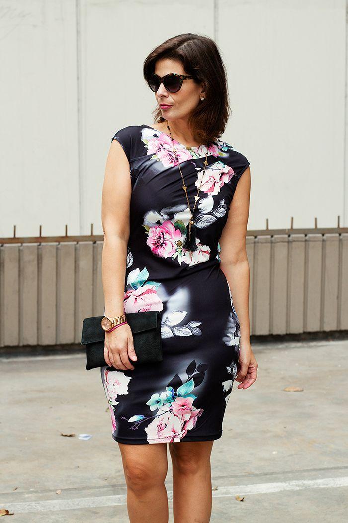 e9c8c60285a1f DIVINA EJECUTIVA  Mis Looks - Otro vestido de flores