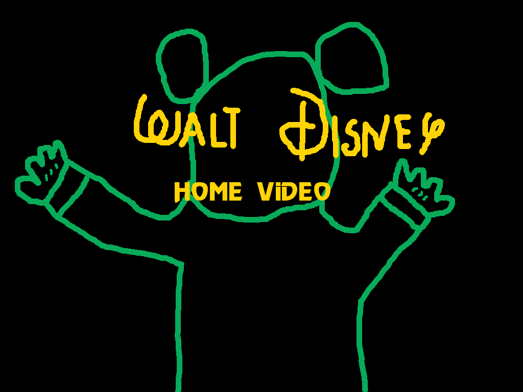 Walt Disney Home Video Neon Mickey Logo 1978 1986 By Pikachuxash Disney Home Neon Walt Disney