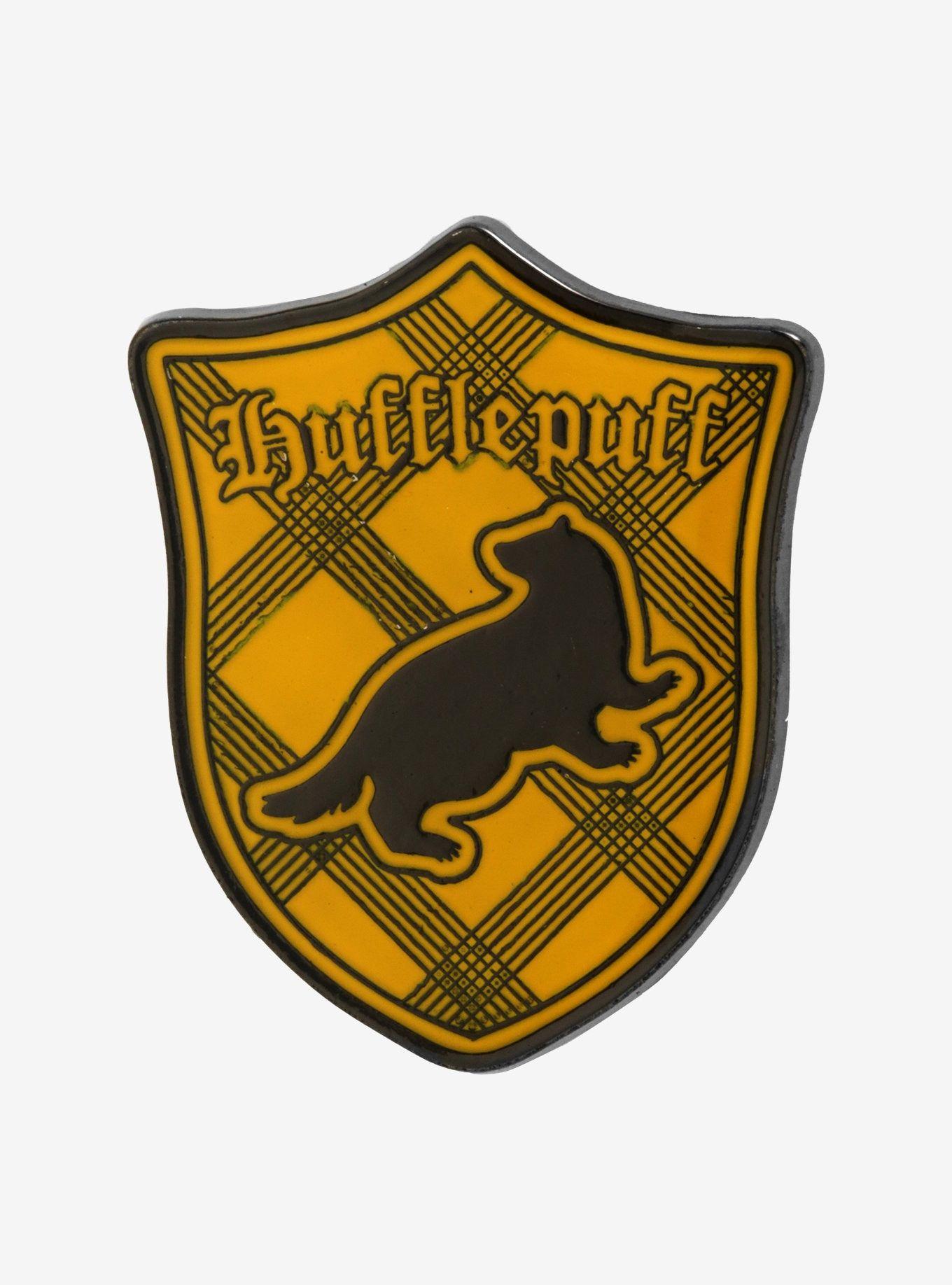 43b73c88 Harry Potter Hufflepuff Crest Enamel Pin in 2019   Hufflepuff ...