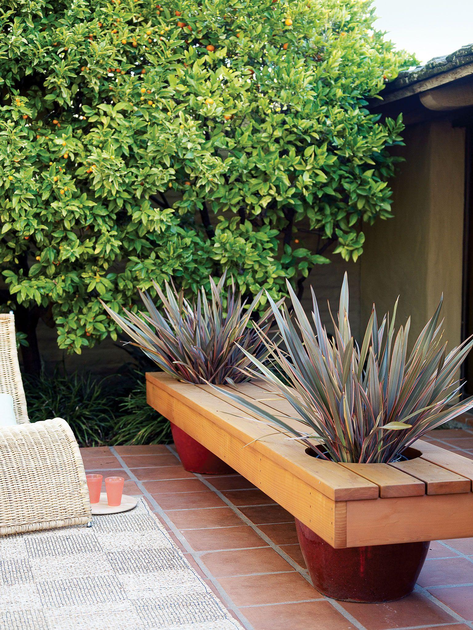 Modern Planter Bench Diy Planters Garden Projects 400 x 300