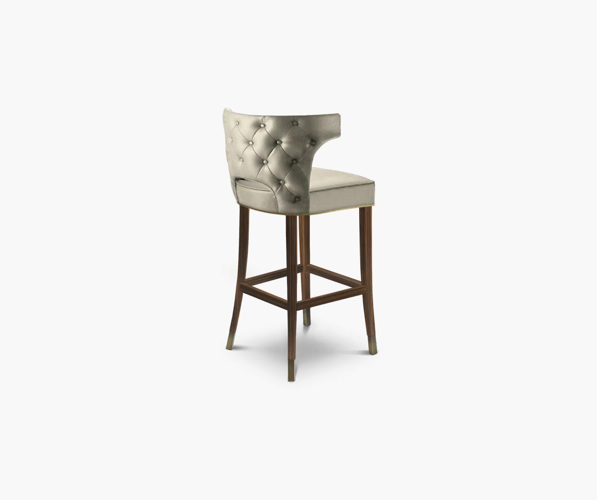 Fancy Barstuhl Messing Beistelltisch Modernes Design Minimalismus Design Minimalist Decor Designer M bel