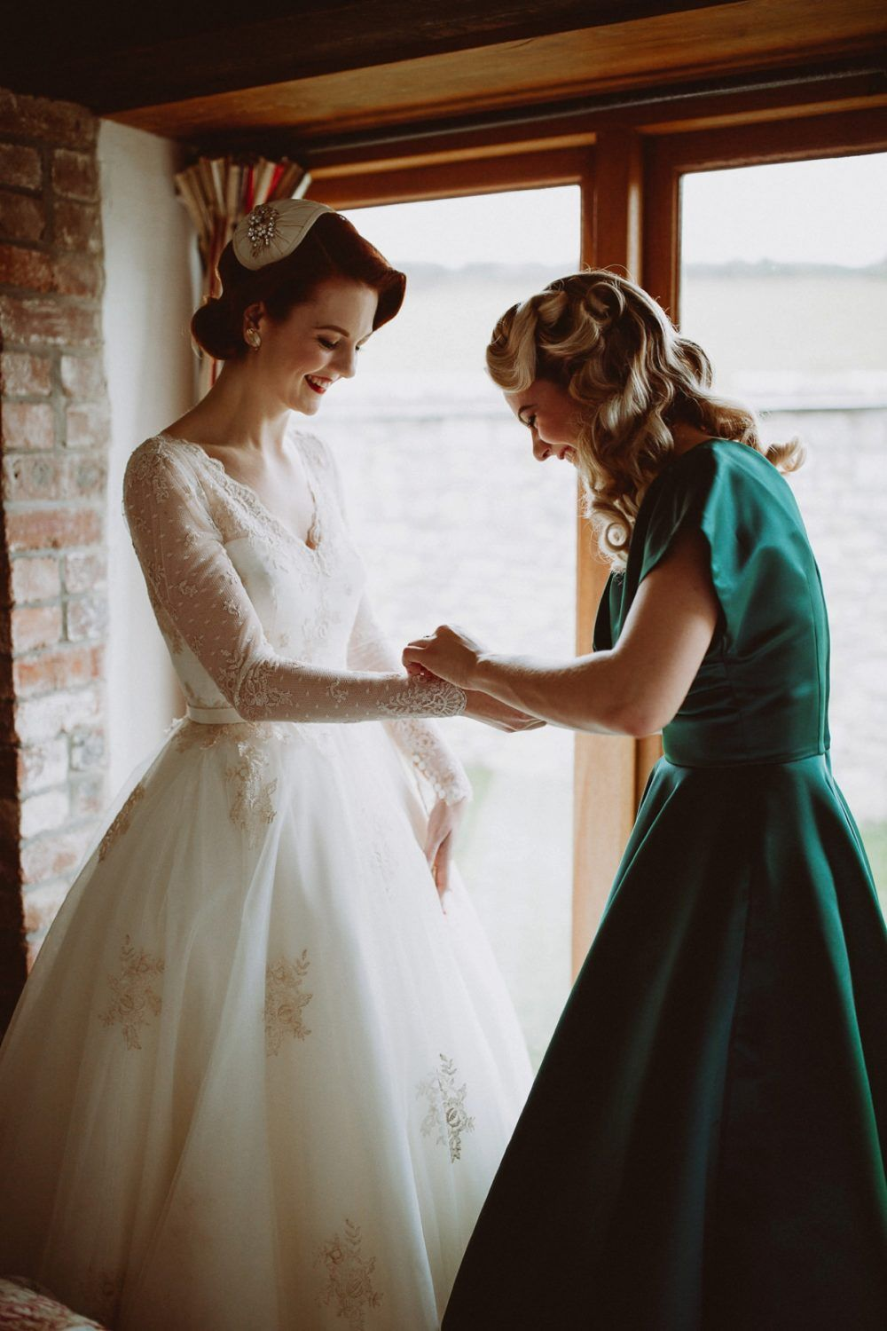 A 1940's Inspired Wedding in Wales