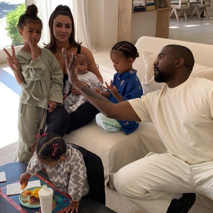 Chicago West On Instagram Family In 2020 Jenner Kids Kardashian Kids Kardashian