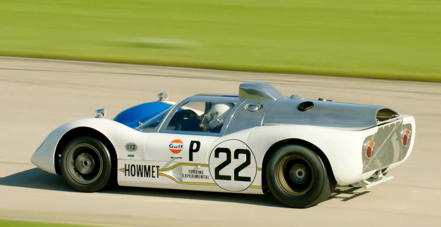 Awesome 1968 Howmet TX, Experimental Turbine Powered Car