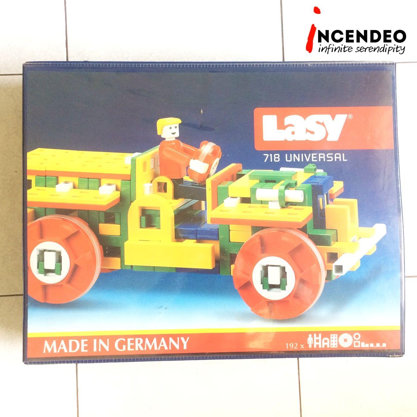 The original LASY Germany 718 Universal Building Blocks Set