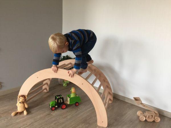 Kletterbogen Schablone : Kletterbogen art pikler kinder klettern spielzeug