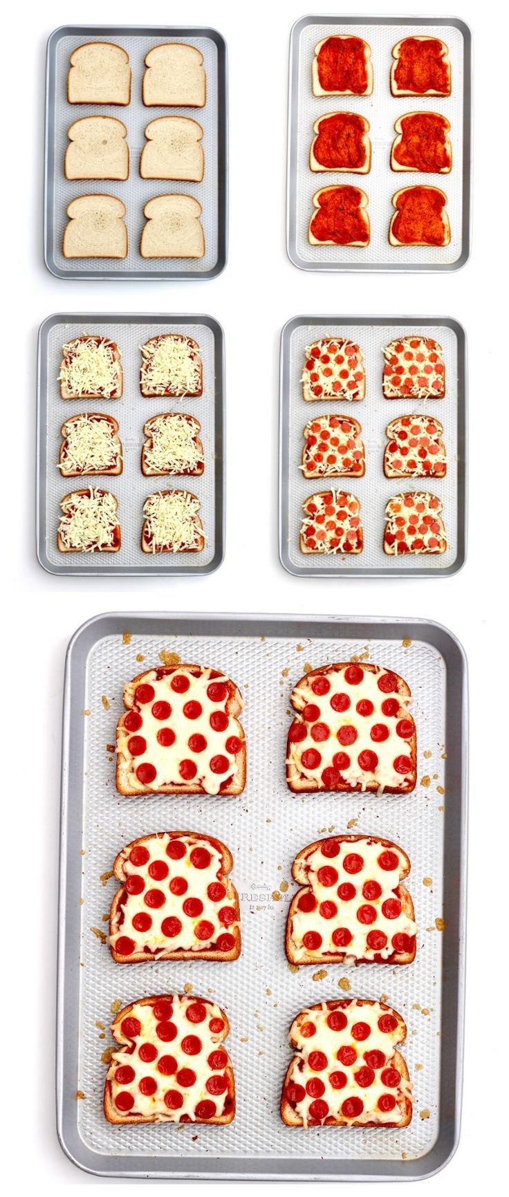 Quick and easy pizza toast is one of our favorite recipes to make for a busy wee images
