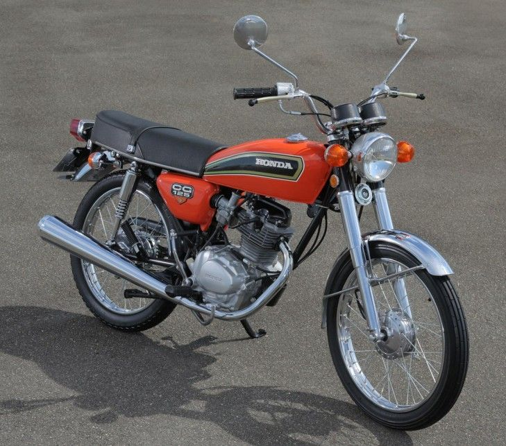 HONDA CG 125 1976 Motociclismo Pinterest Honda