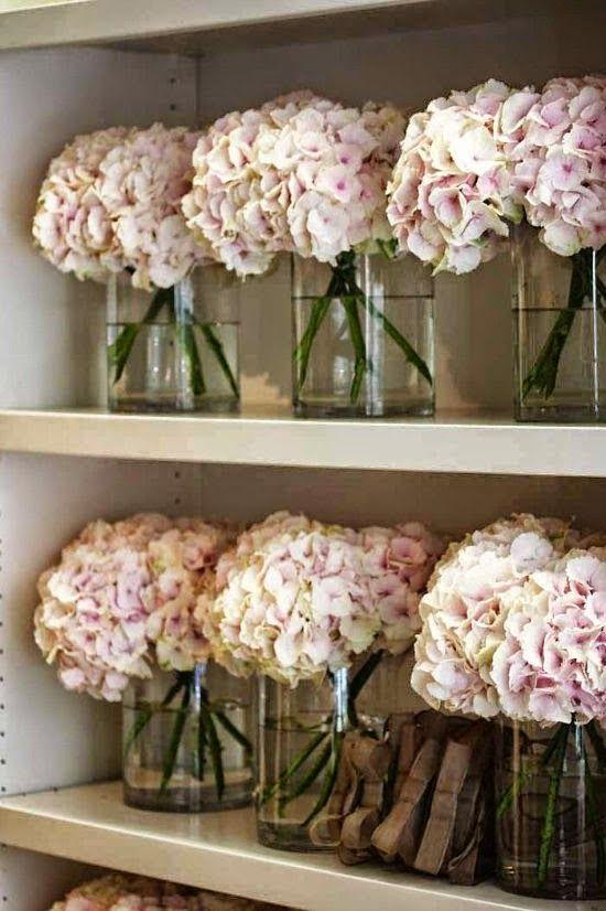 Decoraconmaria plantas de interior y otras decorar con - Decoracion con hortensias ...