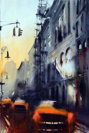Alvoro Castagnet watercolor
