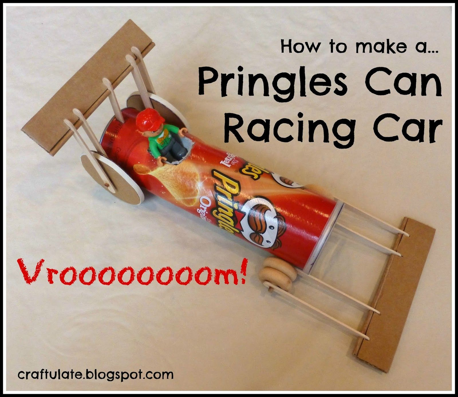 I wanted to make a toy car from a shoebox with wheels that ...
