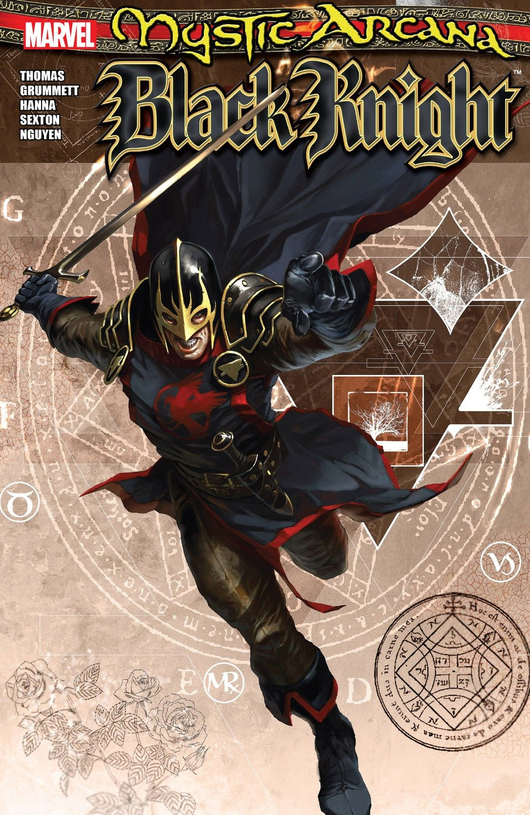Mystic Arcana: Black Knight #1, Magik #1, Scarlet Witch #1, Sister Grimm #1 (2007-2008) - Comix4Free - Free download Marvel, DC, Image Comics