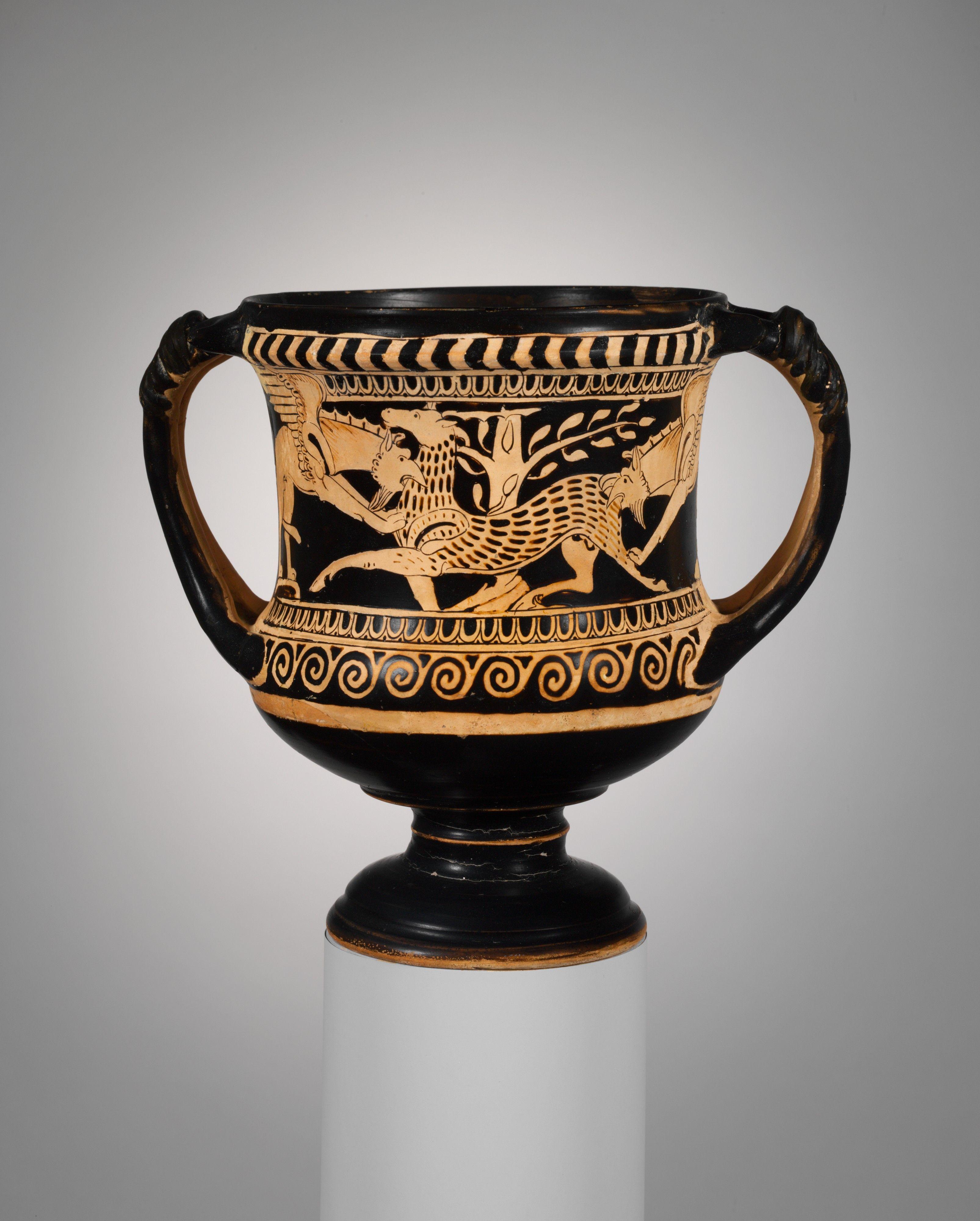 Terracotta Kantharos Drinking Cup Etruscan Late Classical The Metropolitan Museum Of Art Arte De La Antiguedad Arte Etrusco Ceramica Griega
