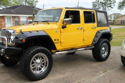 2007 Jeep Wrangler Jeep 2007 Jeep Wrangler Yellow Jeep