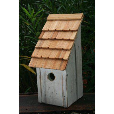 Heartwood Bluebird Bunkhouse Bird House White - 192E