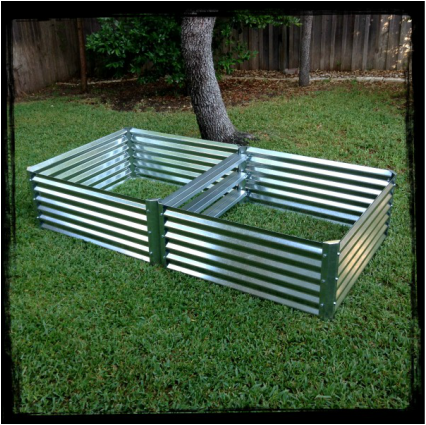 Metal Garden Beds. Our metal raised garden beds are constructed from ...