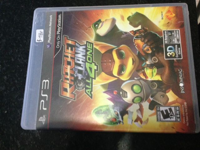 Para Play3. Ratchet clank. $ 180
