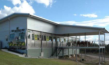 The trainhouse