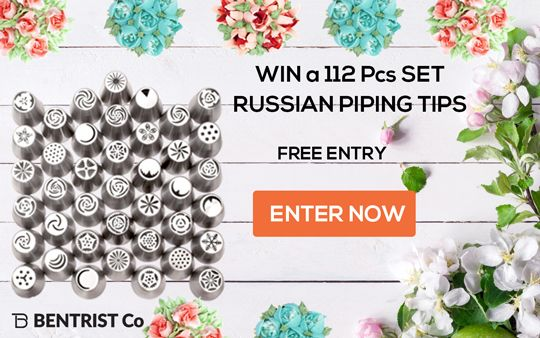 Great Opportunity to win a set of these Awesome Piping tips for yourself!