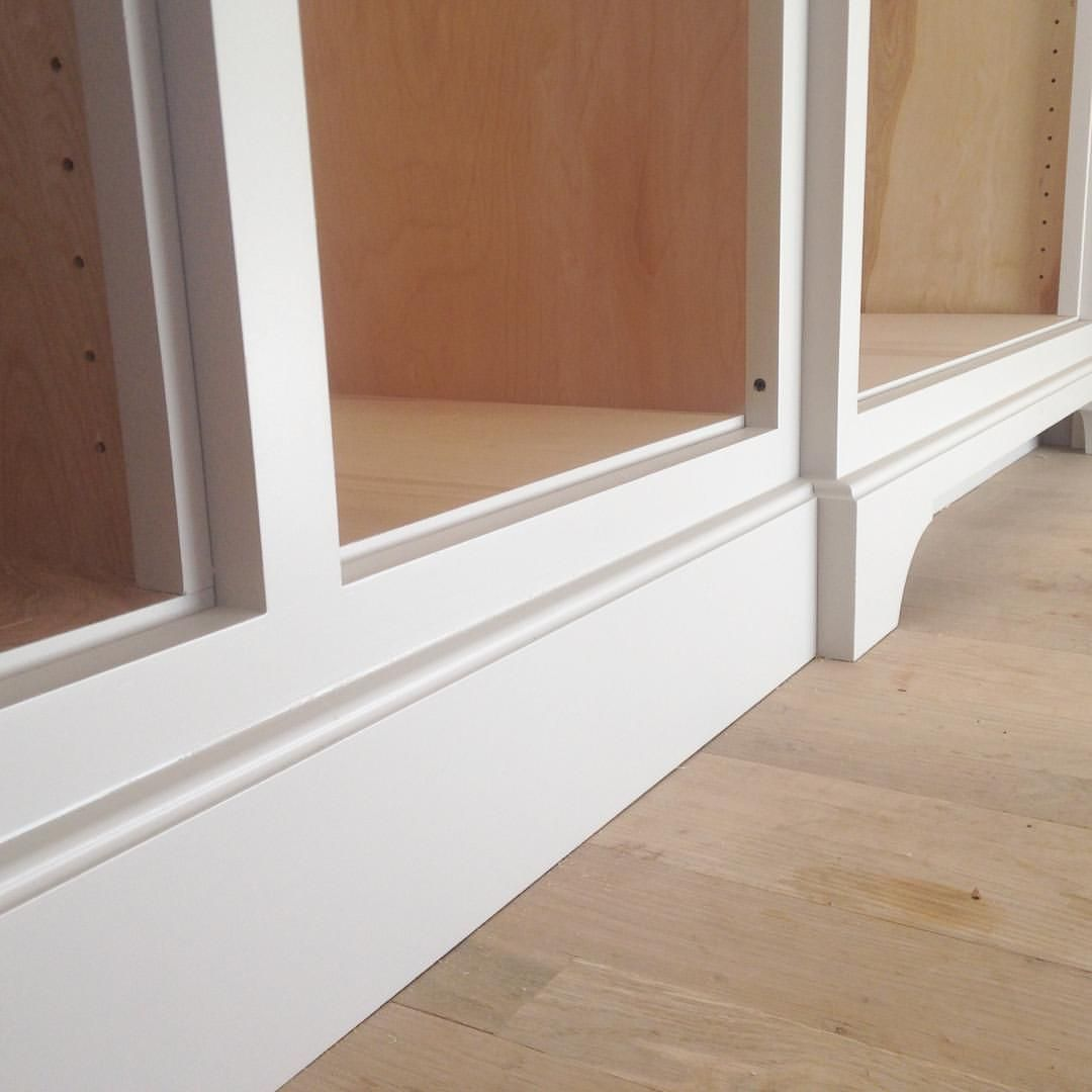 "D C S on Instagram: ""Toe kick and baseboard detail at #dcshomewood ..."