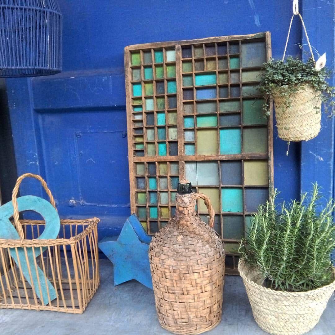#indigo #blue #fleamarket #nathaliebe #bleuklein #brocante #ethnichic