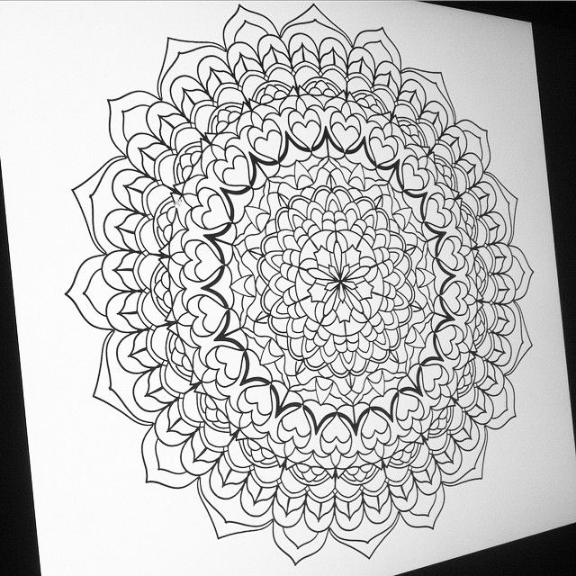 """And yet more mandala action. #mandala #sacredgeometry #tattoo #art #drawing #blackworks #blackwork #lines #dots #book #sigil #signs #symbols #seals…"""