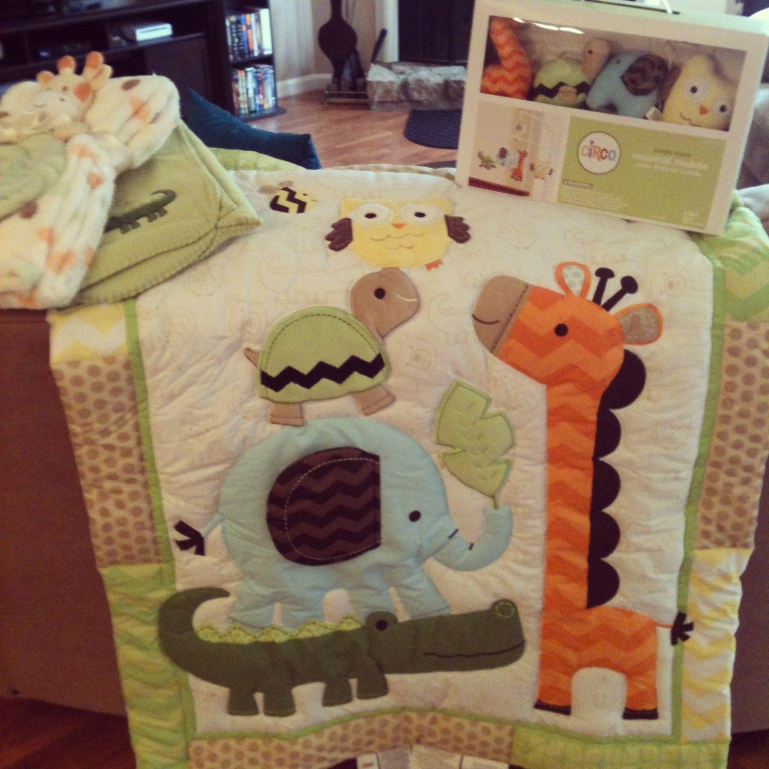 Noah' Bedding Nursery Ark Theme Baby