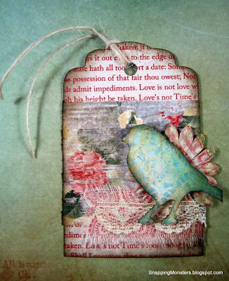 My Cards and Tags: Bird Tag