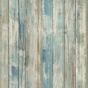Ceiling Roommates Rmk9052wp Blue Distressed Wood Peel And Stick Wall