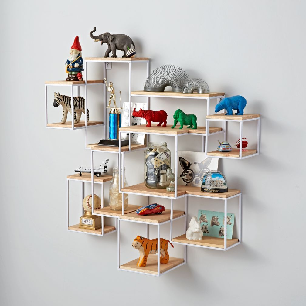 Network Intersecting Cube Shelf | Children Furniture | Pinterest ...