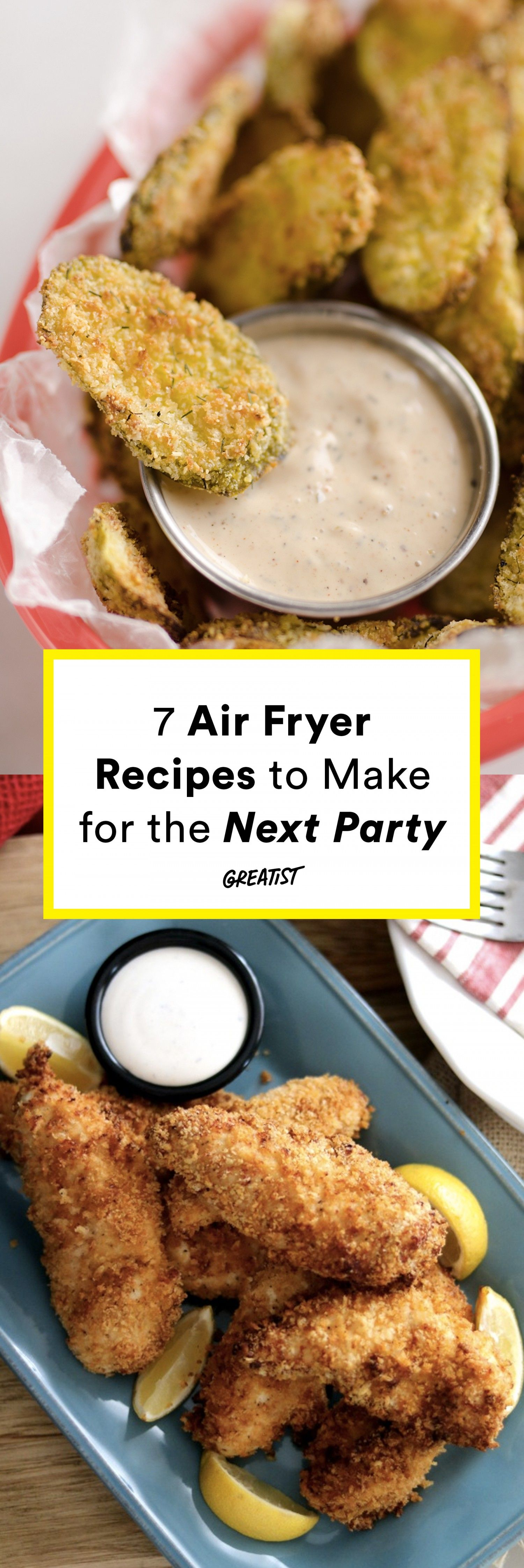 Air Fryer Recipes: 7 Party Foods That Arent Loaded With Fat
