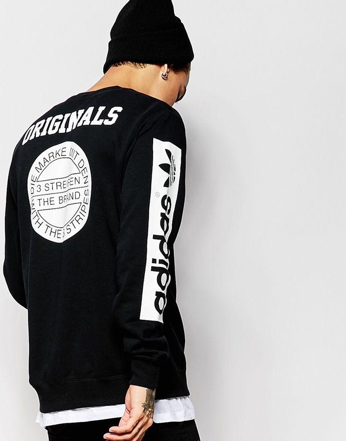 4a0a35a11c898b adidas Originals Stars Sweatshirt AB9577