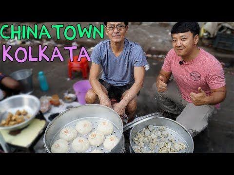 WONTON NOODLES! Indian Chinese Street Food in CHINATOWN Kolkata India