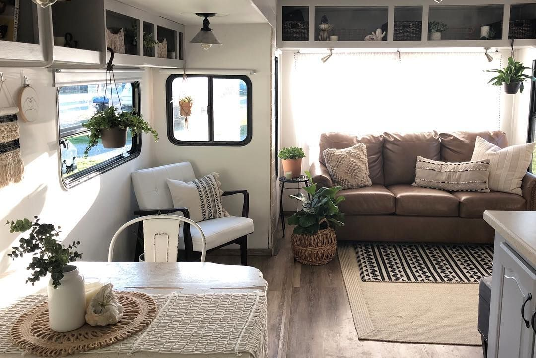 Looking For Interior Ideas For A Motorhome Makeover Planning A Travel Trailer Remodel Or Renovation Or Rv Renovation Ideas Single Wide Remodel Rv Renovations